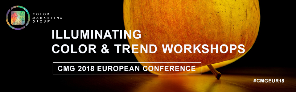 CMG 2018 European Color and Trend Workshops