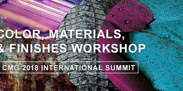 Color ApplicationsWorkshops, Color,Material, and Finish (CMF) Workshop
