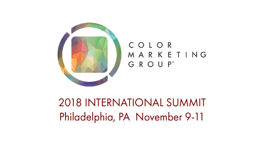 2018 International Summit, Color Marketing Group
