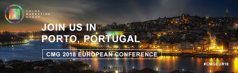 Join Us in Porto, Portugal for Color Marketing Group's 2018 European Conference