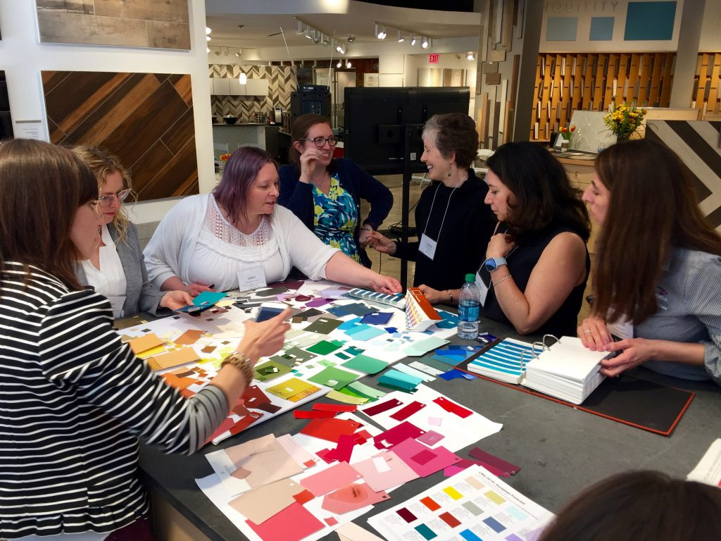color trends identification at Chicago Chromazone 2018