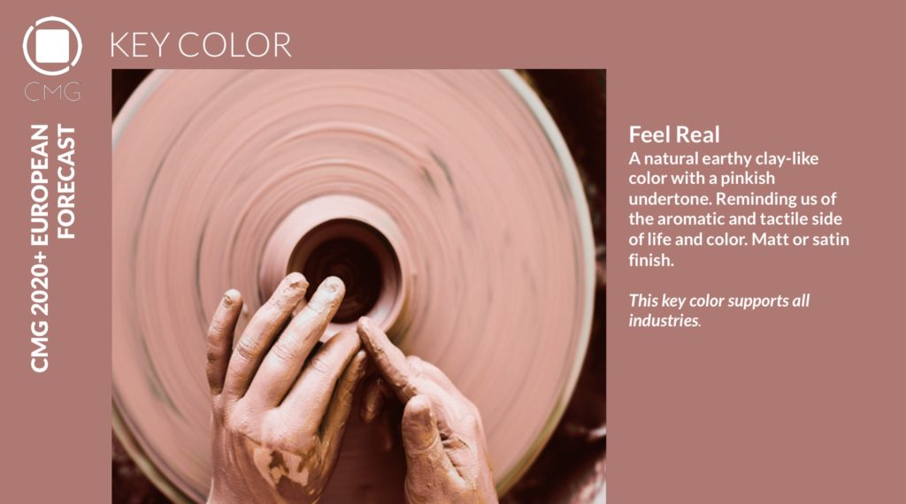 Color Marketing Group Announces 2020+ European Key Color – Feel Real