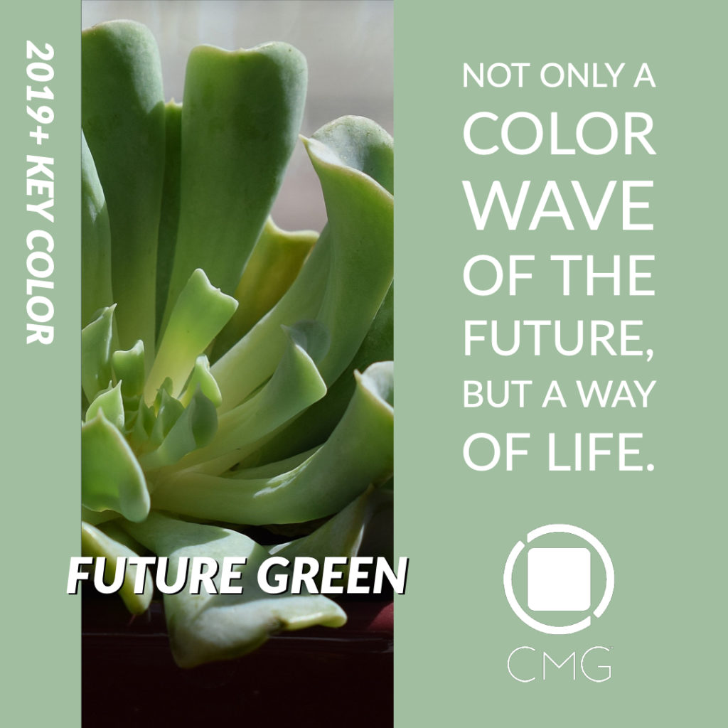 CMG 2019 Key Color Future Green