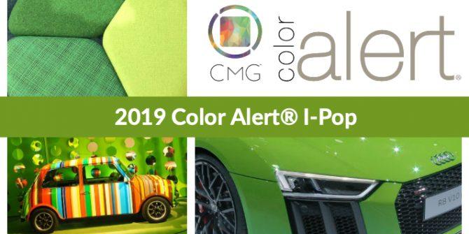 CMG Color Alert March 2019 I-Pop