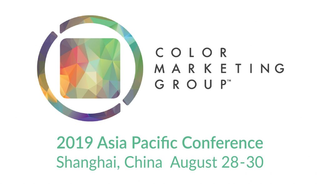 Color Marketing Group's 2019 Asia Pacific Conference Shanghai China August 28-30, 2019