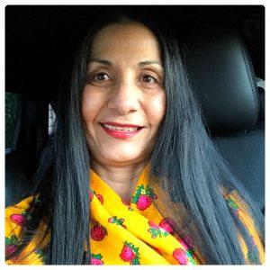 Color Marketing Group Board member, Montaha Hidefi