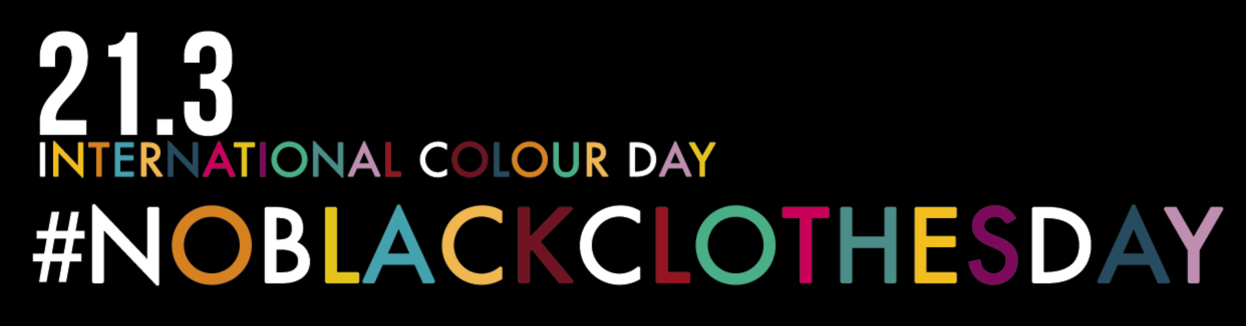#noblackclothesday