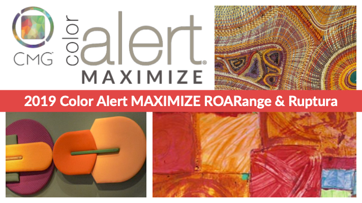 CMG Color Alert MAXIMIZE APRIL ROARange and Ruptura