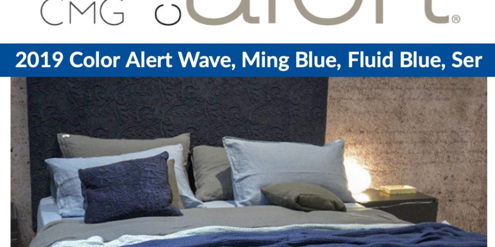 Color Alert wave, ming blue, fluid blue, sea