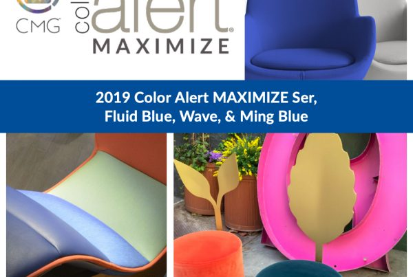 Color Alert MAXIMIZE Ser, Ming Blue, Fluid Blue and Wave