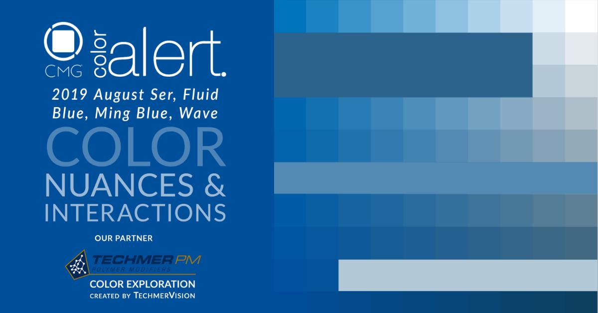 Color Exploration Ser, Ming Blue, Fluid Blue, and Wave