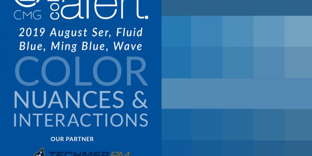 color exploration ser, Ming Blue, wave, fluid blue