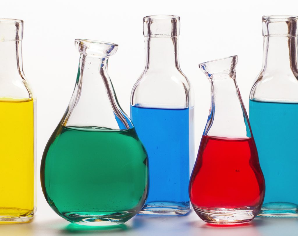 power of color in bottles