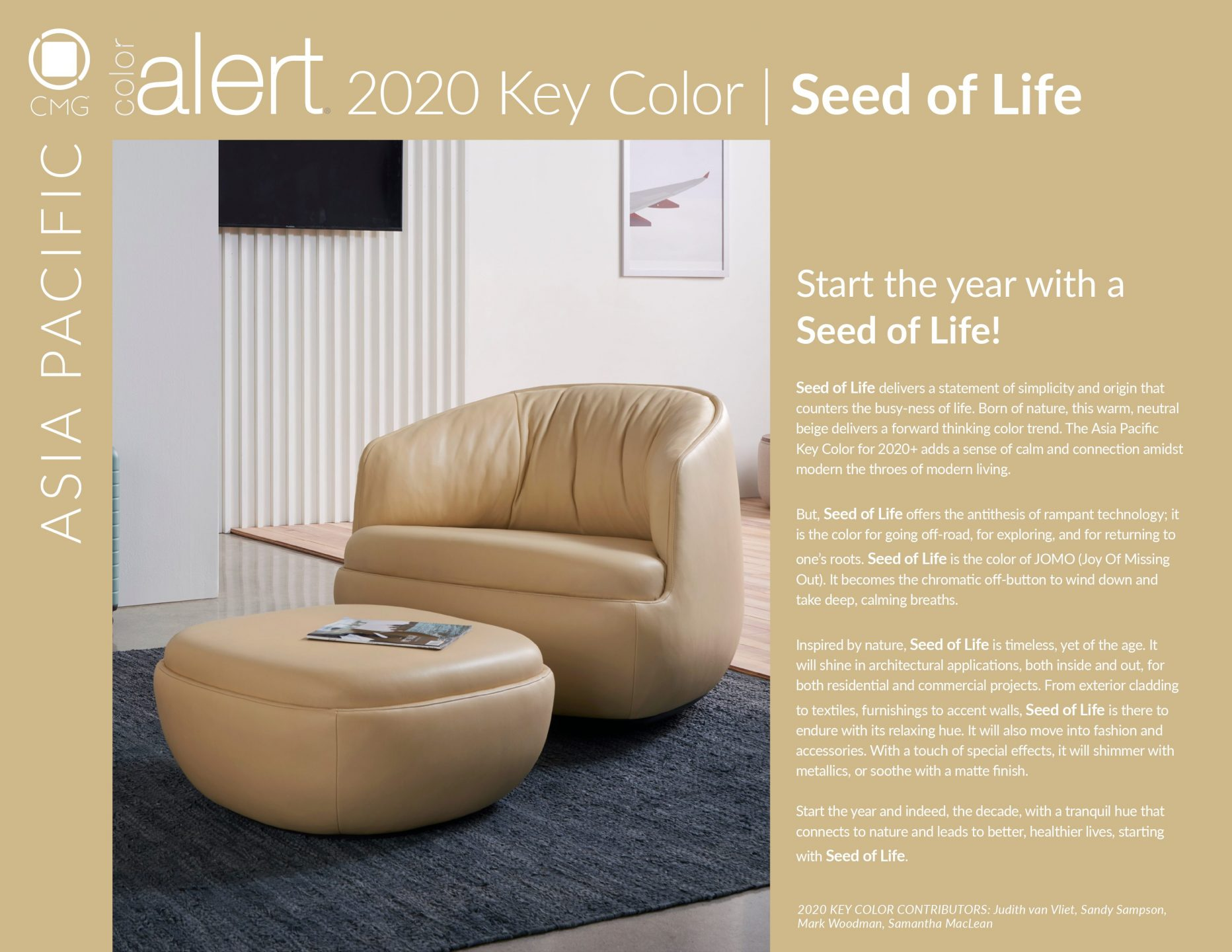 CMG 2020 Key Color Seed of Life