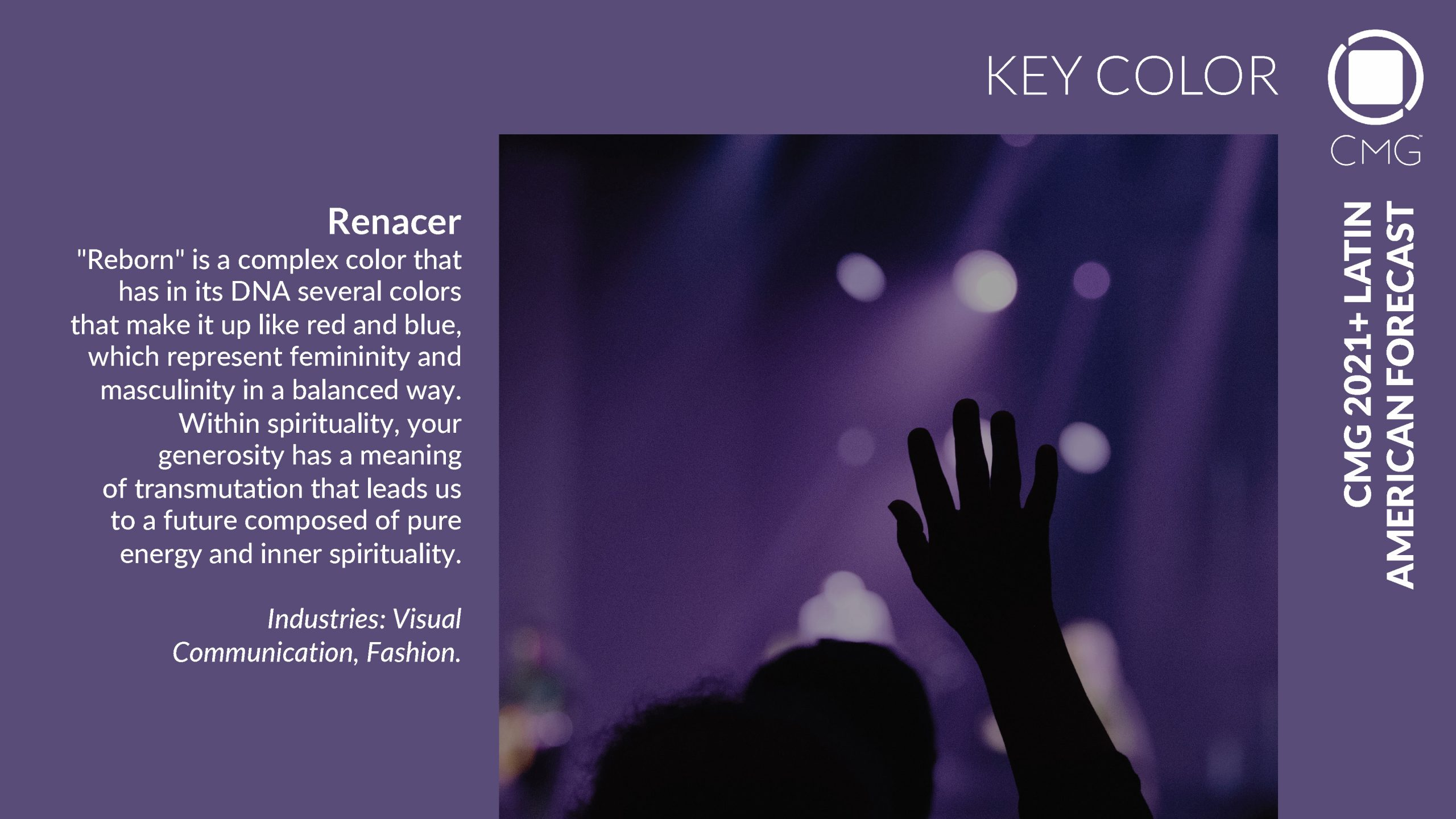 Cmg 2021 key color renacer