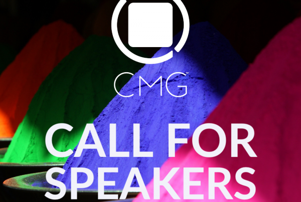 CMG CALL FOR SPEAKERS
