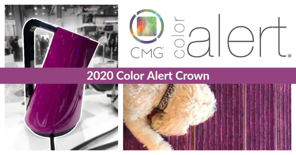 March 2020 Color Marketing Group Color Alert Crown